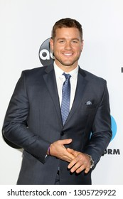 LOS ANGELES - FEB 5:  Colton Underwood at the Disney ABC Television Winter Press Tour Photo Call at the Langham Huntington Hotel on February 5, 2019 in Pasadena, CA