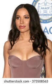 LOS ANGELES - FEB 5:  Jurnee Smollett-Bell at the 47TH NAACP Image Awards Arrivals at the Pasadena Civic Auditorium on February 5, 2016 in Pasadena, CA