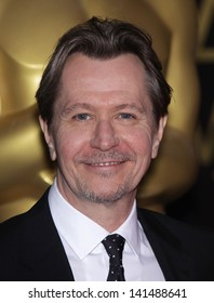 LOS ANGELES - FEB 6:  GARY OLDMAN arrives to the 2012 Academy Awards Nominee Luncheon  on Feb 6, 2012 in Beverly Hills, CA