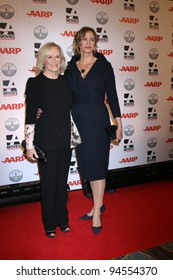 LOS ANGELES - FEB 6:  Glenn Close, Janet McTeer arrives at the AARP's 11th Annual Movies For Gownups Awards at Beverly Wilshire Hotel on February 6, 2012 in Beverly Hills, CA