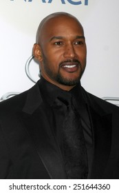 LOS ANGELES - FEB 6:  Henry Simmons at the 46th NAACP Image Awards Arrivals at a Pasadena Convention Center on February 6, 2015 in Pasadena, CA