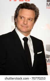 """LOS ANGELES - FEB 7:  Colin Firth arrives at the 2011 AARP """"Movies for Grownups"""" Gala  at Regent Beverly Wilshire Hotel on February 7, 2011 in Beverly Hills, CA"""