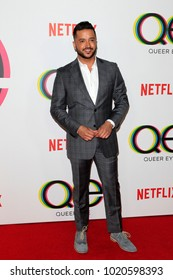 """LOS ANGELES - FEB 7:  Jai Rodriguez at the """"Queer Eye"""" Season One Premiere Screening at the Pacific Design Center on February 7, 2018 in West Hollywood, CA"""