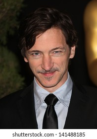 LOS ANGELES - FEB 7:  JOHN HAWKES arrives to the 83rd Academy Awards Nominees Luncheon  on Feb 7, 2011 in Beverly Hills, CA