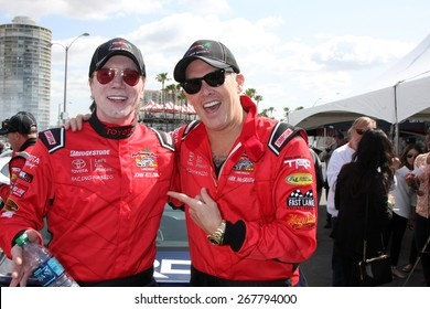 LOS ANGELES - FEB 7:  John Rzeznik, Mark McGrath at the Toyota Grand Prix of Long Beach Pro/Celebrity Race Press Day at the Grand Prix Compound on FEB 7, 2015 in Long Beach, CA