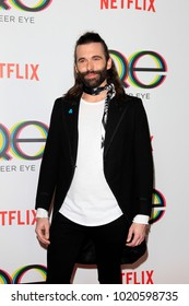 """LOS ANGELES - FEB 7:  Jonathan Van Ness at the """"Queer Eye"""" Season One Premiere Screening at the Pacific Design Center on February 7, 2018 in West Hollywood, CA"""