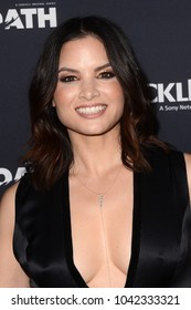 "LOS ANGELES - FEB 7:  Katrina Law at the ""The Oath"" Red Carpet Premiere Event at the Sony Studios on February 7, 2018 in Culver City, CA"