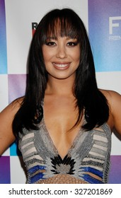 LOS ANGELES - FEB 8 - Cheryl Burke arrives at the 16th Annual Friends N Family Pre Grammy Party on February 8, 2013 in Los Angeles, CA