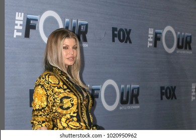 """LOS ANGELES - FEB 8:  Fergie at the """"The Four"""" Season 1 Finale Viewing Party at Delilah on February 8, 2018 in West Hollywood, CA"""