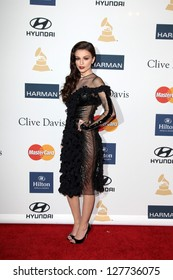 LOS ANGELES - FEB 9:  Cher Lloyd arrives at the Clive Davis 2013 Pre-GRAMMY Gala at the Beverly Hilton Hotel on February 9, 2013 in Beverly Hills, CA