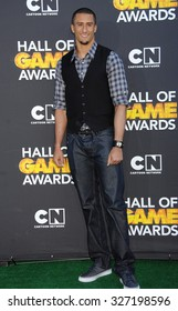 LOS ANGELES - FEB 9 - Colin Kaepernick arrives at the 13rd Annual Cartoon Network Hall Of Game Awards on February 9, 2013 in Los Angeles, CA
