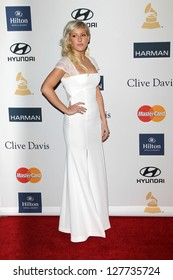LOS ANGELES - FEB 9:  Ellie Goulding arrives at the Clive Davis 2013 Pre-GRAMMY Gala at the Beverly Hilton Hotel on February 9, 2013 in Beverly Hills, CA