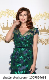 LOS ANGELES - FEB 9:  Sara Rue at the Hallmark Winter 2019 TCA Event at the Tournament House on February 9, 2019 in Pasadena, CA