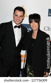 LOS ANGELES - FEB 9:  Tommy Page. Diane Warren arrives at the Clive Davis 2013 Pre-GRAMMY Gala at the Beverly Hilton Hotel on February 9, 2013 in Beverly Hills, CA