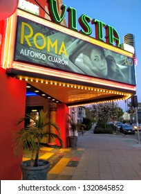 """LOS ANGELES - February 1, 2019: The film """"Roma"""" in limited theatrical release."""