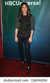 LOS ANGELES - JAN 06:  Jillian Michaels arrives to the NBC All Star Winter TCA 2013  on January 06, 2013 in Pasadena, CA