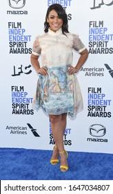 LOS ANGELES - JAN 06:  Vivian Lamolli arrives for the Film Independent Spirit Awards 2020 on February 08, 2020 in Santa Monica, CA