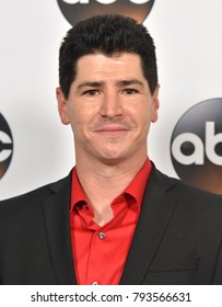 LOS ANGELES - JAN 08:  Michael Fishman arrives for the ABC Winter 2018 TCA Event on January 08, 2018 in Pasadena, CA