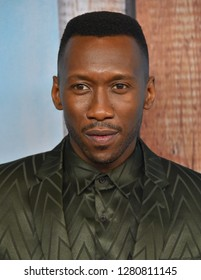 LOS ANGELES - JAN 10:  Mahershala Ali arrives to HBO's 'True Detective' Season 3 Premiere  on January 10, 2019 in Hollywood, CA