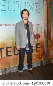 """LOS ANGELES - JAN 10:  Matthew McConaughey at the """"True Detective"""" Season 3 Premiere Screening at the Directors Guild of America on January 10, 2019 in Los Angeles, CA"""