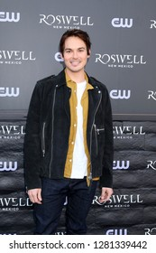 "LOS ANGELES - JAN 10:  Tyler Blackburn at the ""Roswell, New Mexico"" Experience at the 8801 Sunset Blvd on January 10, 2019 in West Hollywood, CA"