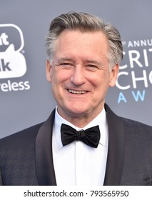 LOS ANGELES - JAN 11:  Bill Pullman arrives for the 23rd Annual Critics' Choice Awards on January 11, 2018 in Santa Monica, CA