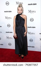 LOS ANGELES - JAN 11:  Dove Cameron at the Marie Claire Image Makers Awards 2018 at the Delilah on January 11, 2018 in West Hollywood, CA