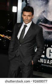"""LOS ANGELES - JAN 11:  Frank Grillo arrives at """"The Grey"""" Premiere at Regal Theater at LA Live on January 11, 2012 in Los Angeles, CA"""