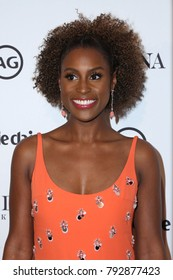LOS ANGELES - JAN 11:  Issa Rae at the Marie Claire Image Makers Awards 2018 at the Delilah on January 11, 2018 in West Hollywood, CA
