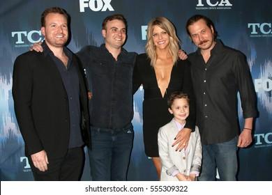 LOS ANGELES - JAN 11:  John Chernin, Dave Chernin, Kaitlin Olson, Jack Stanton, Scott MacArthur at the FOX TV TCA Winter 2017 All-Star Party at Langham Hotel on January 11, 2017 in Pasadena, CA