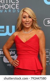LOS ANGELES - JAN 11:  Lori Greiner at the 23rd Annual Critics' Choice Awards at Barker Hanger on January 11, 2018 in Santa Monica, CA