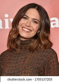 LOS ANGELES - JAN 11:  Mandy Moore on the red carpet at the NBCUniversal Winter TCA 2020 on January 11, 2020 in Pasadena, CA