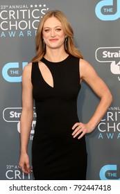 LOS ANGELES - JAN 11:  Marin Ireland at the 23rd Annual Critics' Choice Awards at Barker Hanger on January 11, 2018 in Santa Monica, CA