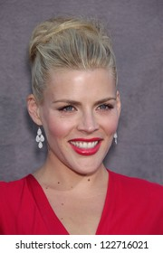 LOS ANGELES - JAN 12:  BUSY PHILIPPS arriving to Critic's Choice Movie Awards 2012  on January 12, 2012 in Hollywood, CA