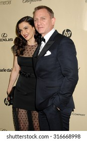 LOS ANGELES - JAN 13 - Daniel Craig and Rachel Weisz arrives at the 2013 Weinstein Company Golden Globes After Party  on January 13, 2013 in Beverly Hills, CA