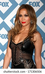 LOS ANGELES - JAN 13:  Jennifer Lopez at the FOX TCA Winter 2014 Party at Langham Huntington Hotel on January 13, 2014 in Pasadena, CA
