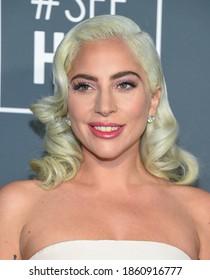 LOS ANGELES - JAN 13:  Lady Gaga {Object} arrives for '24th Annual Critics' Choice Awards on January 13, 2019 0 in Santa Monica, CA