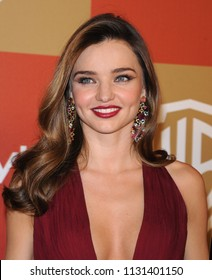LOS ANGELES - JAN 13:  Miranda Kerr arrives to the WB/In Style Golden Globe Party  on January 13, 2013 in Hollywood, CA