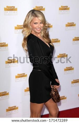 Los Angeles Jan 14 Christie Brinkley Stock Photo Edit Now