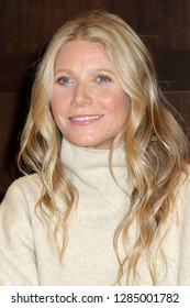 "LOS ANGELES - JAN 14:  Gwyneth Paltrow signs her new Book ""The Clean Plate"" at the Barnes & Noble at The Grove on January 14, 2019 in Los Angeles, CA"