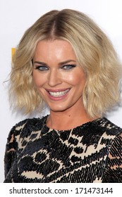 LOS ANGELES - JAN 14:  Rebecca Romijn at the 50th Anniversary Of Sports Illustrated Swimsuit Issue at Dolby Theater on January 14, 2014 in Los Angeles, CA