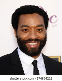 LOS ANGELES - JAN 16:  Chiwetel Ejiofor arrives to the Critics' Choice Movie Awards 2014  on January 16, 2014 in Santa Monica, CA