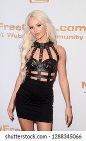 LOS ANGELES - JAN 17:  Elsa Jean at the 2019 XBIZ Awards at the Westin Bonaventure Hotel on January 17, 2019 in Los Angeles, CA