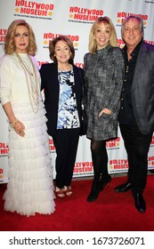 """LOS ANGELES - JAN 18:  Donna Mills, Donna Pescow, Teresa Ganzel, Billy Van Zandt at the 40th Anniversary of """"Knots Landing"""" Celebration at the Hollywood Museum on January 18, 2020 in Los Angeles, CA"""