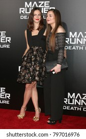 """LOS ANGELES - JAN 18:  Kaya Scodelario at the """"Maze Runner: The Death Cure"""" Fan Screening at AMC 15 on January 18, 2018 in Century City, CA"""