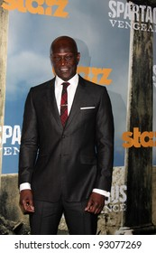 """LOS ANGELES - JAN 18:  Peter Mensah. arrives at  the """"Spartacus: Vengeance"""" Screening of the STARZ Series Season 3 Premiere at ArcLight Theaters on January 18, 2012 in Los Angeles, CA"""
