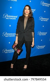 LOS ANGELES - JAN 18:  Rachel Ramras at the Paramount Network Launch Party at the Sunset Tower on January 18, 2018 in West Hollywood, CA