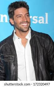 LOS ANGELES - JAN 19:  David Choccarro at the NBC TCA Winter 2014 Press Tour at Langham Huntington Hotel on January 19, 2014 in Pasadena, CA
