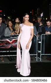 "LOS ANGELES - JAN 19:  Deepika Padukone at the ""xXx: Return Of Xander Cage"" Premiere at TCL Chinese Theater IMAX on January 19, 2017 in Los Angeles, CA"