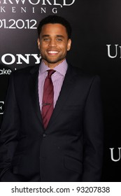 5fbc20926272 LOS ANGELES - JAN 19  Michael Ealy arrives at the